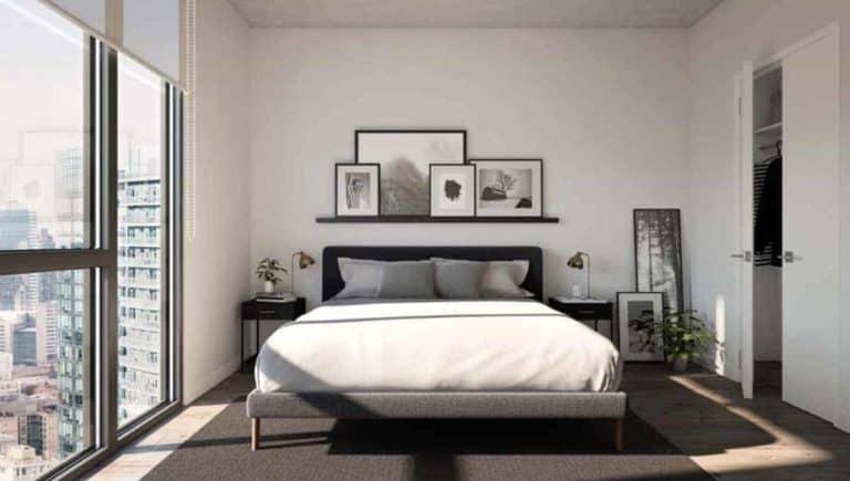 1 bedroom suite sugar wharf condos