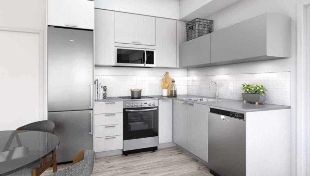 Backyard Condos Queensview Kitchen