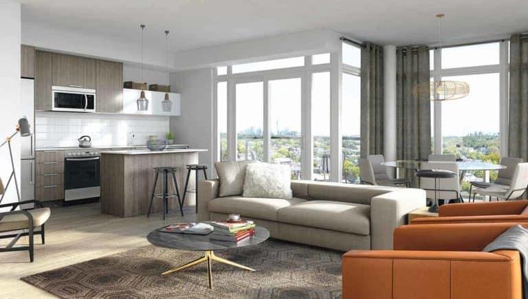 Backyard Condos Queensview Suite