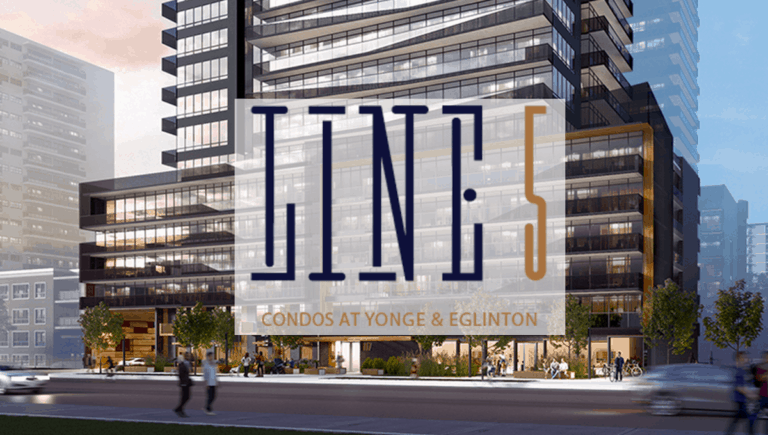 Line 5 condos at Young and Eglinton