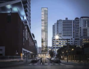 Maverick Building preconstruction condo Front view