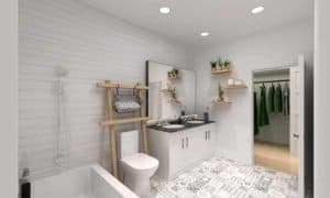 bathroom elevate condos toronto