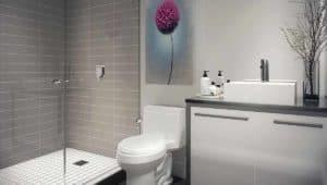 bathroom stride condos toronto