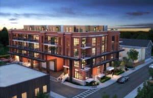 exterior building elevate condos toronto