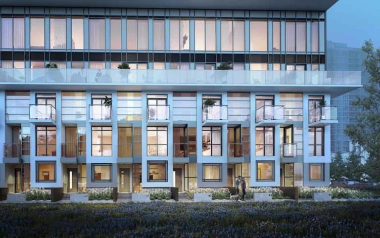 exterior building garden district preconstruction condo in toronto