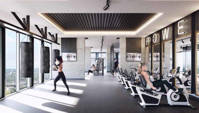 fitness center phoenix condos