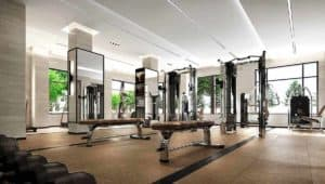 fitness equipment evermore condos