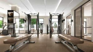 fitness gym evermore condos