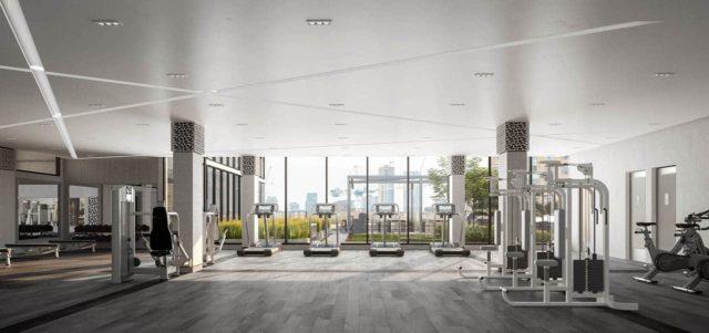 gym fitness center 543 richmond condos preconstruction