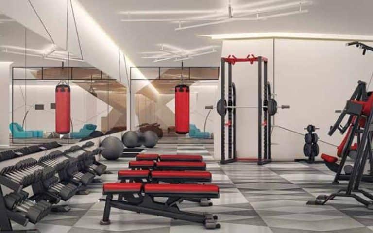 gym fitness center garrison point playground preconstruction condo
