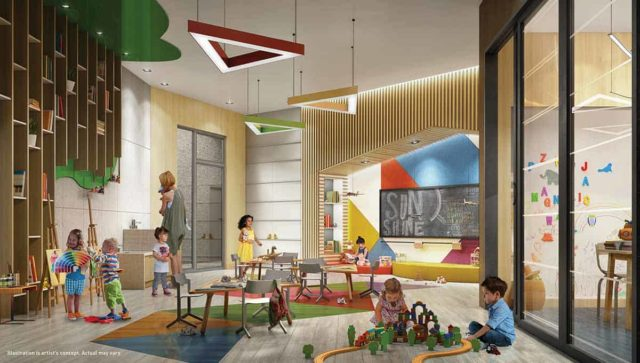 kids play room saturday downsview condos