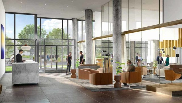 lobby keeley condos downsview