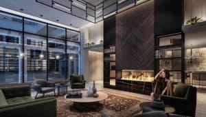 lobby lounge phoenix condos
