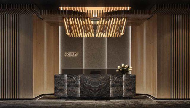 lobby nobu residences