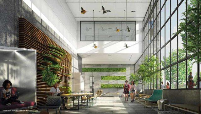 lobby saturday downsview condos