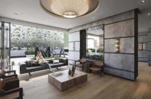 lounge lobby the maverick condos in toronto