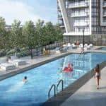 outdoor pool garrison point playground preconstruction condo