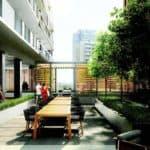 outdoor terrace e2 condos