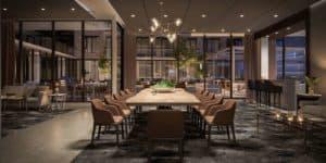 party room 543 richmond condos preconstruction