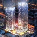 projection rendering lakeside pe construction condos in toronto