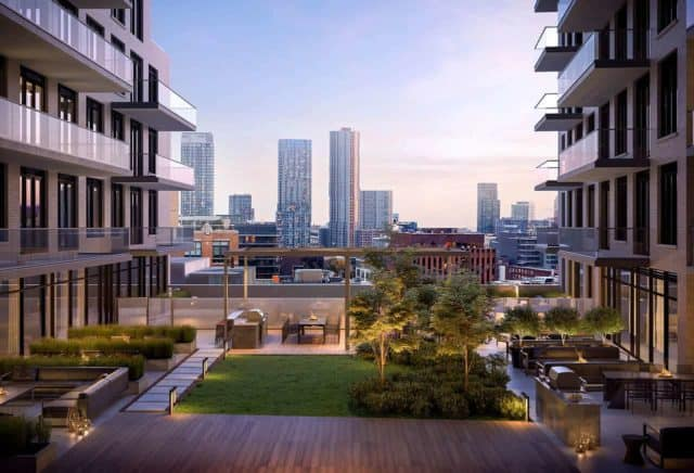 rooftop terrace 543 richmond condos preconstruction