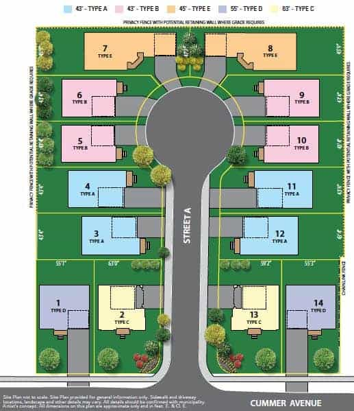 site map willowdale heights homes