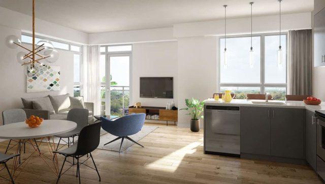 suite interior uptowns heartlake condos
