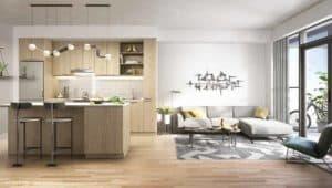 suite interiror saturday downsview condos