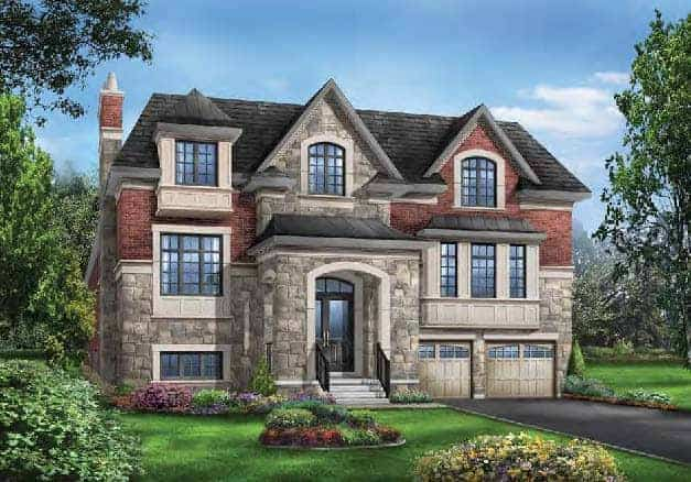 the Hawthorn typeD EL A 3759sqft front view