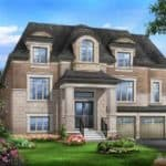 the Hawthorn typeD EL B 3708sqft front view