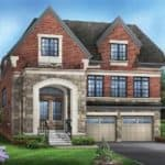 the sycamore typeA EL A 3639sqft front view