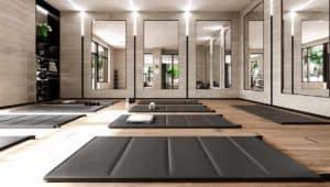 yoga fitness studio evermore condos