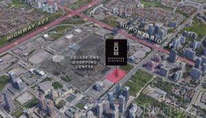 exchange district condos map