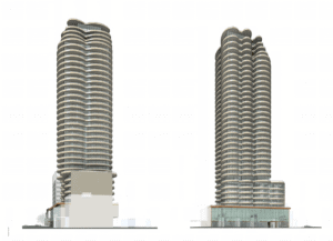the clair residences building design