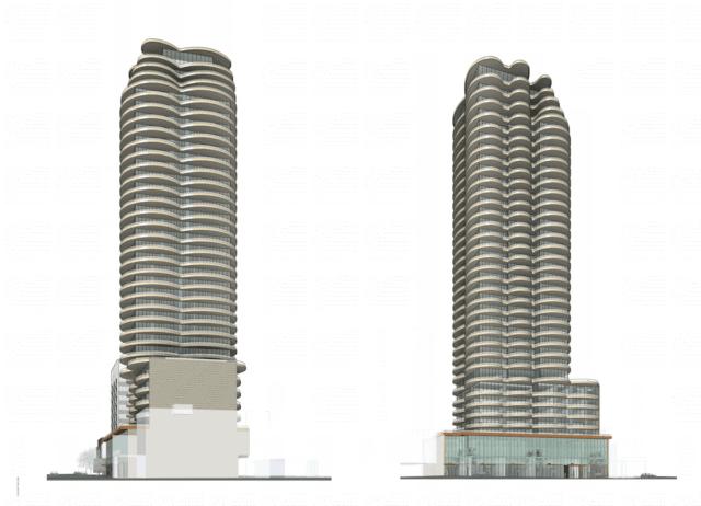 the clair residences building design