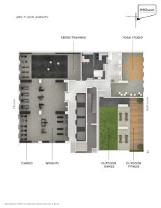 199 Church Level 3 Amenity Flat Plan