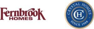 Fernbrook Crystal Homes logo set