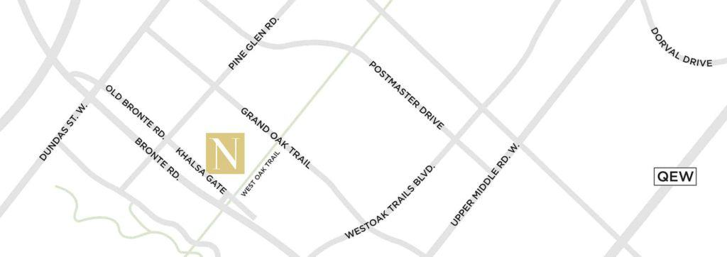 NUVO key location map