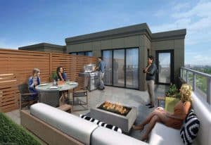 Southside Towns Rooftop Terrace Renderings 680