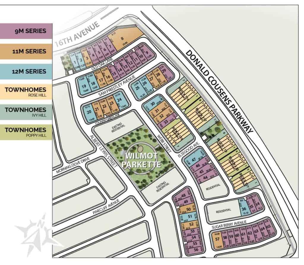 Cornell Rouge Siteplan ph7 map