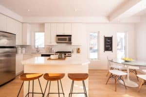 Cornell Rouge kitchen
