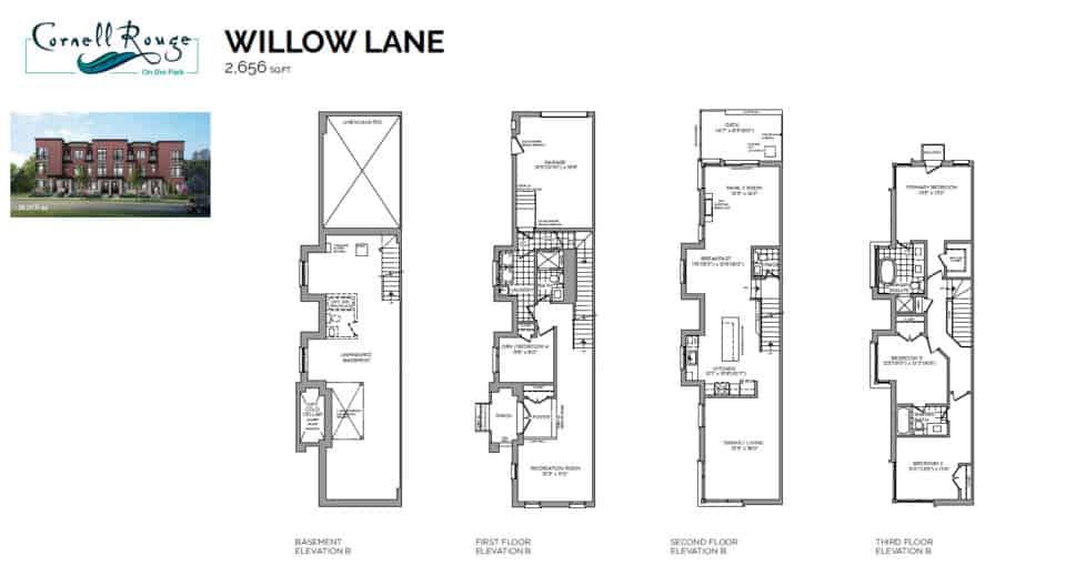 CR floorplans ph8 towns web willow lane