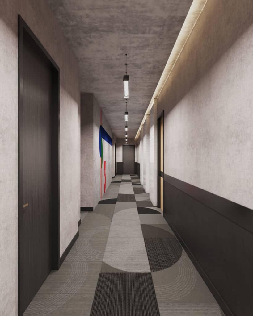 BAUhaus Hallway
