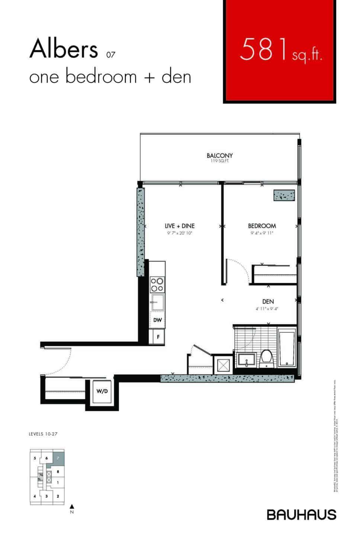 Bauhaus Floorplans Albers