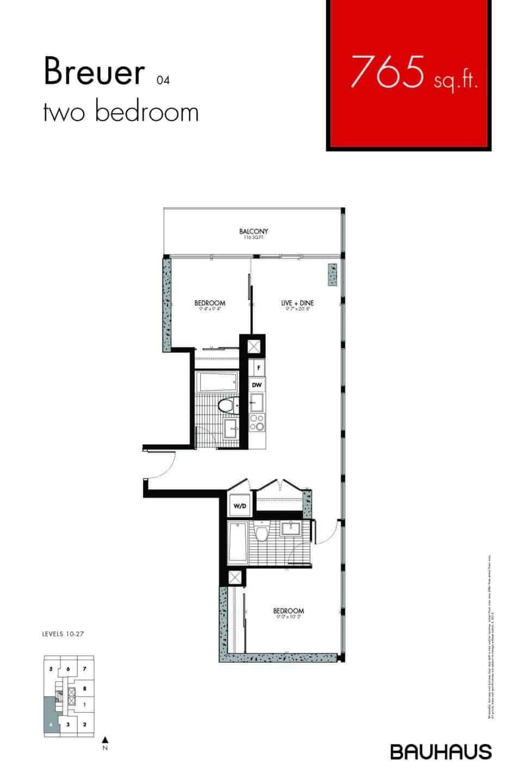 Bauhaus Floorplans Breuer