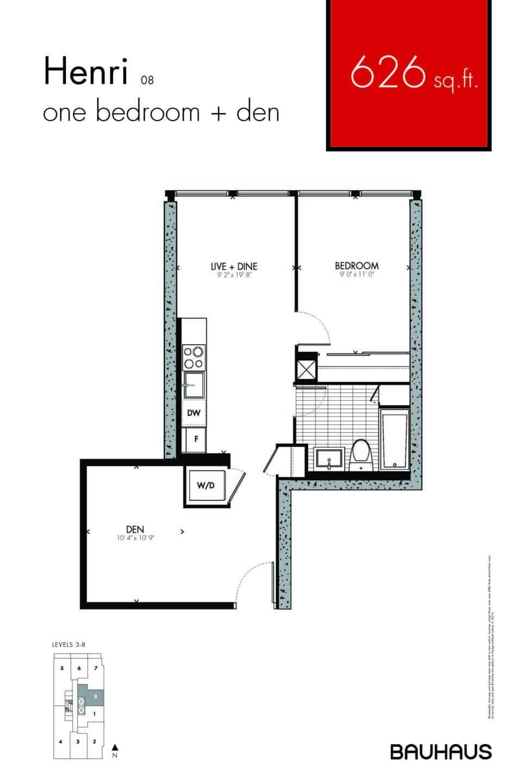 Bauhaus Floorplans Henri