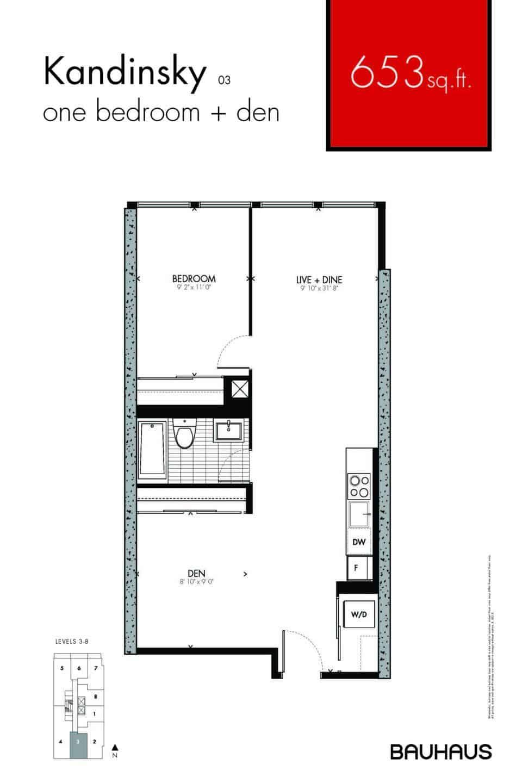 Bauhaus Floorplans Kandinsky