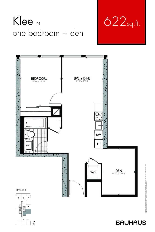 Bauhaus Floorplans Klee