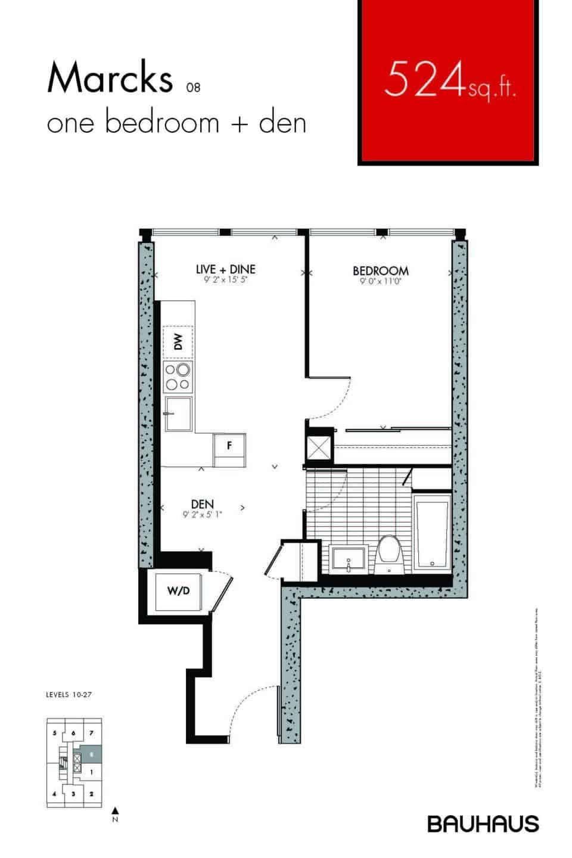 Bauhaus Floorplans Marcks