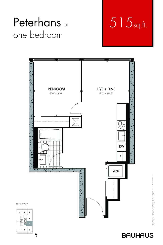 Bauhaus Floorplans Peterhans